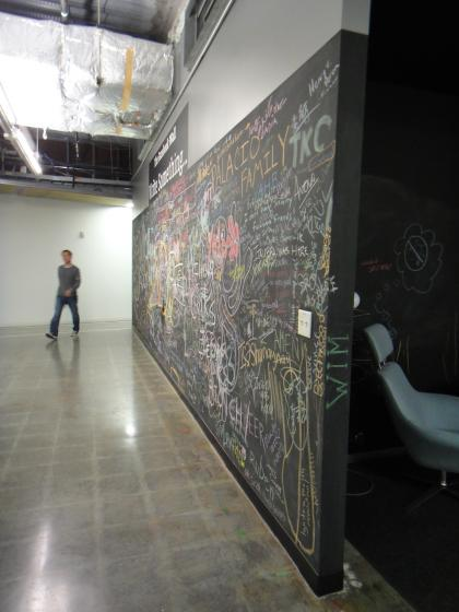 The Wall at the new MPK office