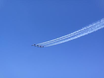 Incredibly tight flight formation