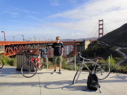 Me @ Golden Gate bridge