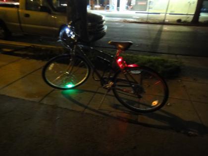 My bike — The Super Safe Clown Show