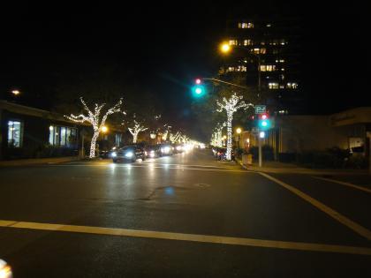 Palo Alto by night