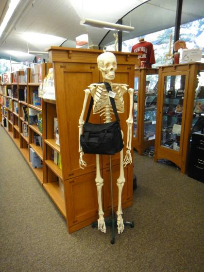 Stanford Bookstore: Medicine section