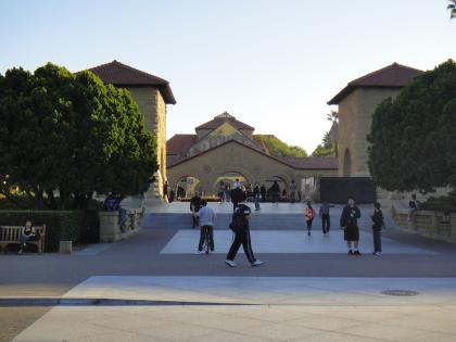 Stanford entrance