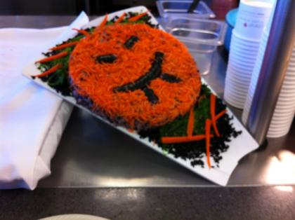 Halloween food at Facebook