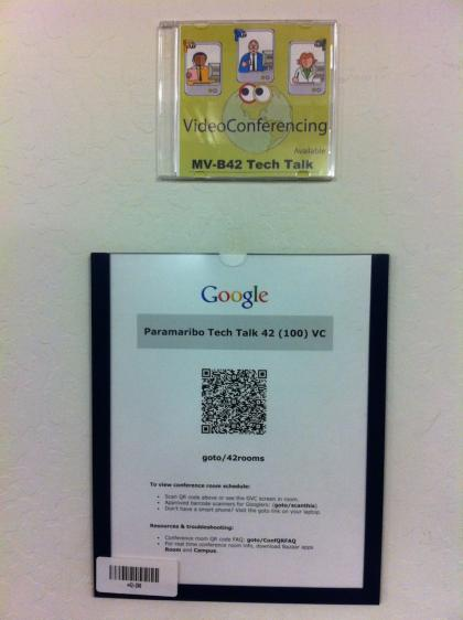 Google Tech Talk room