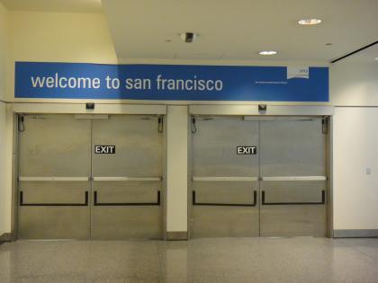 San Francisco: entrance or exit?