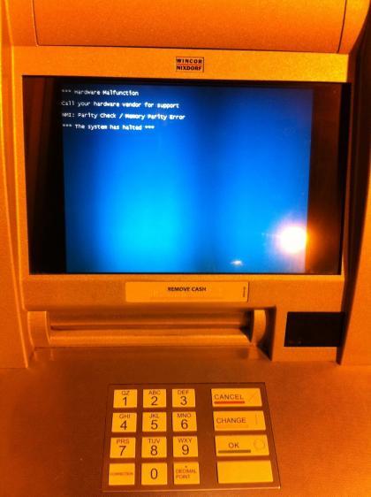 ATM BSOD. Argh!