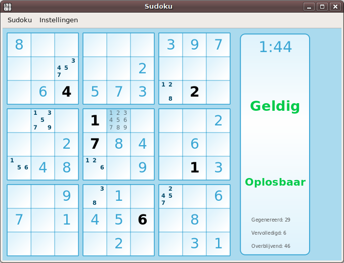Sudoku | Wim Leers