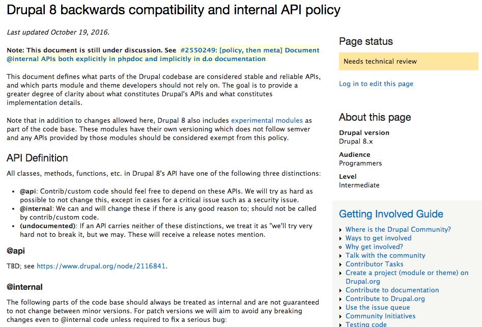 Backwards Compatibility vs Evolvability vs Maintainability